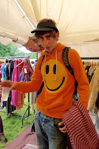 acid smiley hoodie james