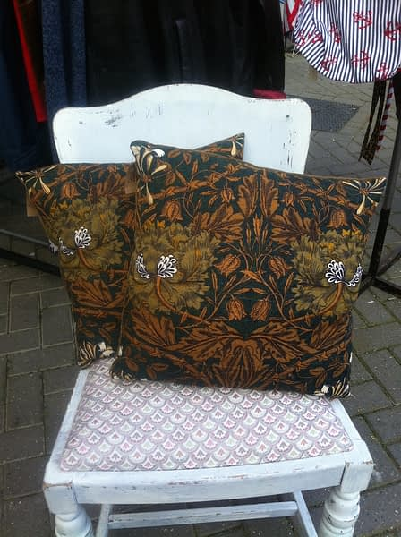 william morris scatter cushion
