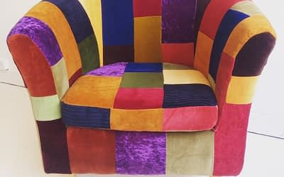 Patchwork Tubchair No 8
