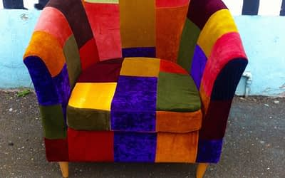Patchwork Tub Chair No 7