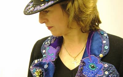 Hand Embellished Hat and Jacket