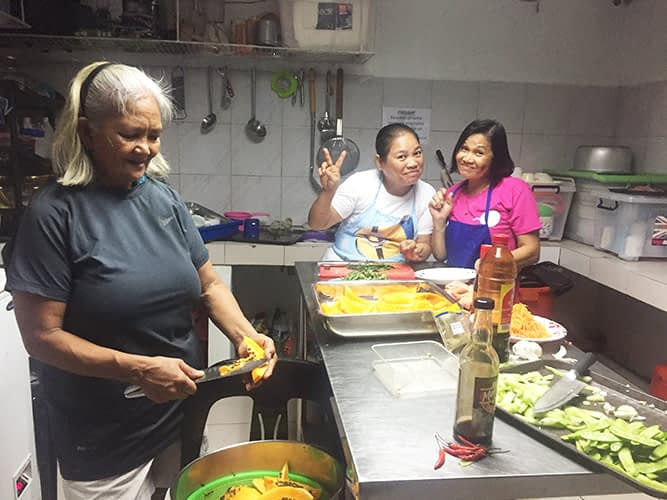 Nanay's Making Healthy Meals