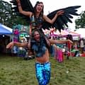 black angel wings playgroup festival