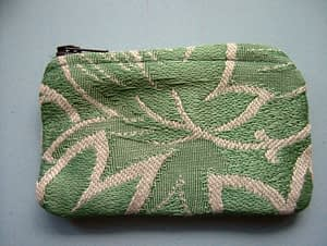 handmade purse brocade