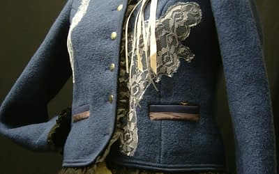 Embellished Wool Jacket