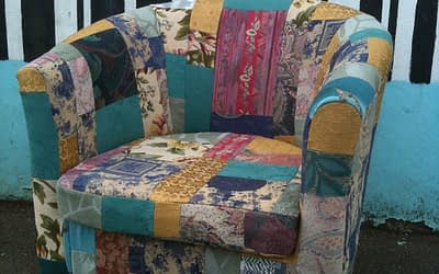More Patchwork Upholstery!