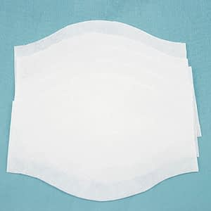 Face Mask Filters Made from Interfacing Fabric
