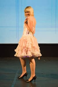 eco fashion show dress