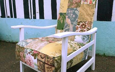 Patchwork Armchair Upholstery