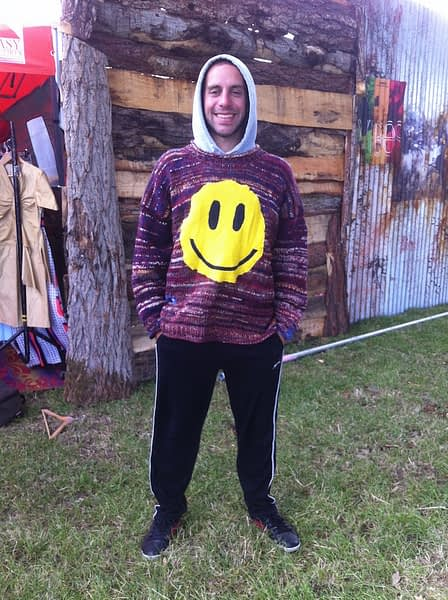 acid smiley jumper shambala