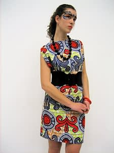 was trousers now a dress african print