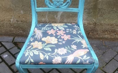 Chair Painting and Upholstery Workshops & Classes